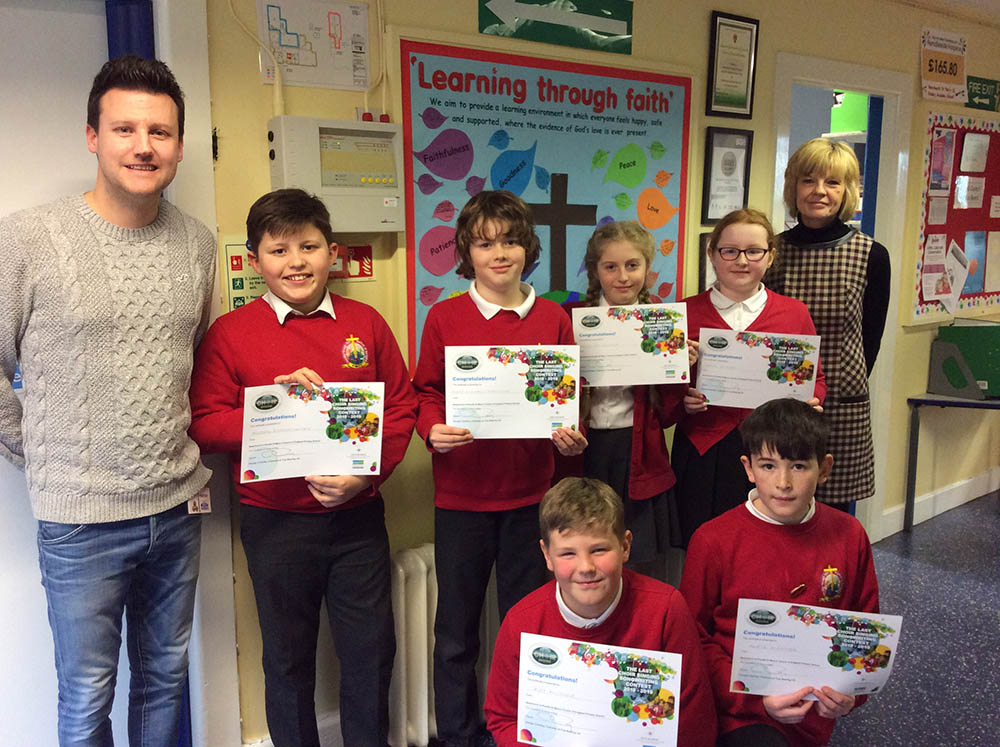 Newchurch St Marys School - Certificates