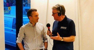 Simon with John Gillmore